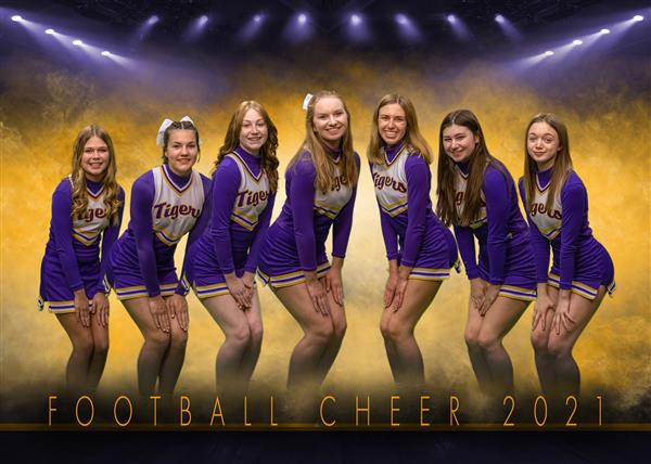 JV Football Cheer 20-21